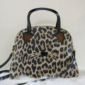 Like New Kate Spade Leopard Print Lottie Purse